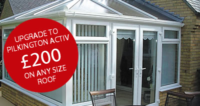 uPVC conservatory offer