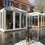 double upvc conservatory
