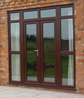 French doors rehau total 70 eurocell manufacturer for Upvc french doors inward opening