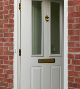 Rehau pvcu entrance door