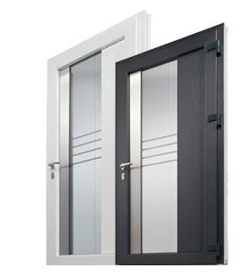 Rehau Geneo pvc entrance door