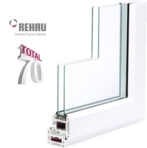 Rehau uPVC 70 mm window system