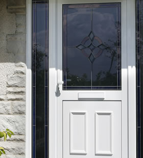 Smarts aluminium entrance door