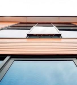Smart aluminium reversible windows