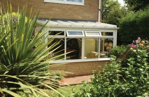uPVC lean to conservatory system