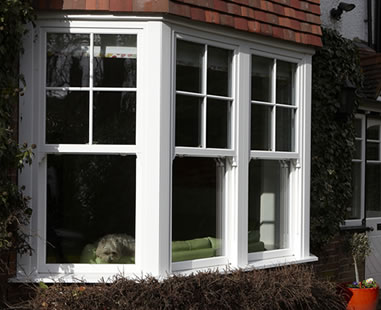 Synseal vertical sliding sash windows