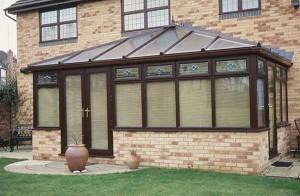 Rehau edwardian PVCu conservatory