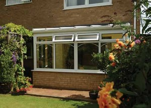 A PVCu lean-to conservatory system