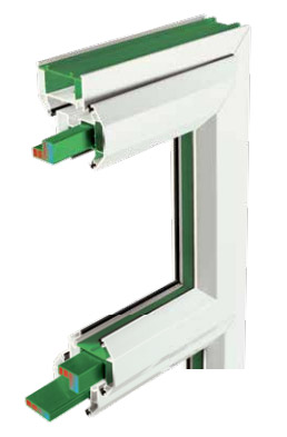 Eurocell uPVC casement window