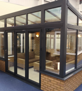 Reverse Lean-to Conservatories