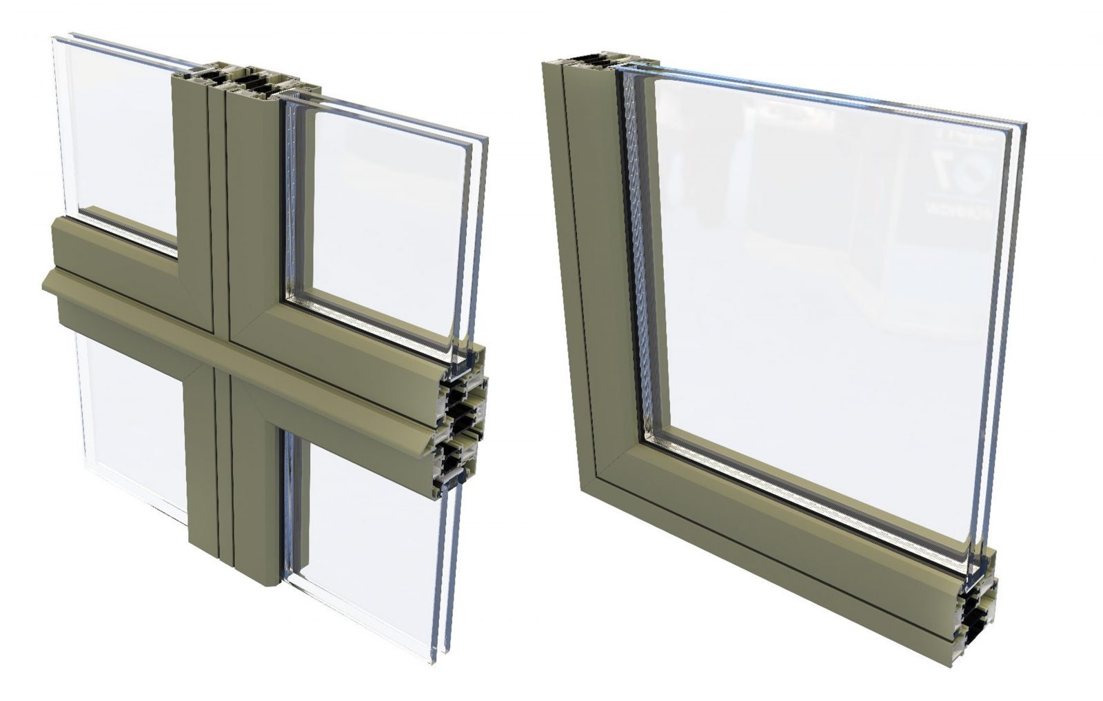 Smarts Alitherm 500 aluminium flush casement